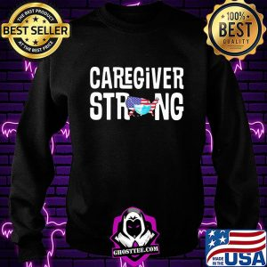 Caregiver strong american map mask covid-19 s Sweatshirt