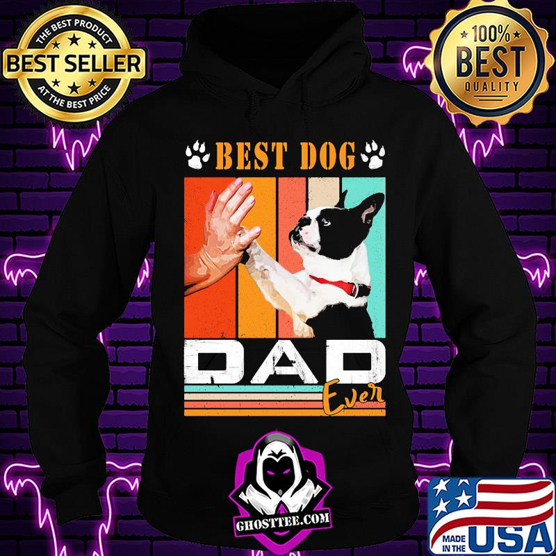 977bd104 french bulldog best dog paw dad ever vintage shirt hoodie - Home