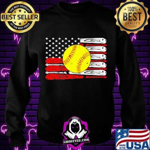 Baseball independence day american flag s Sweatshirt
