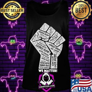 Fist juneteenth freedom day we matter george floyd s Tank Top