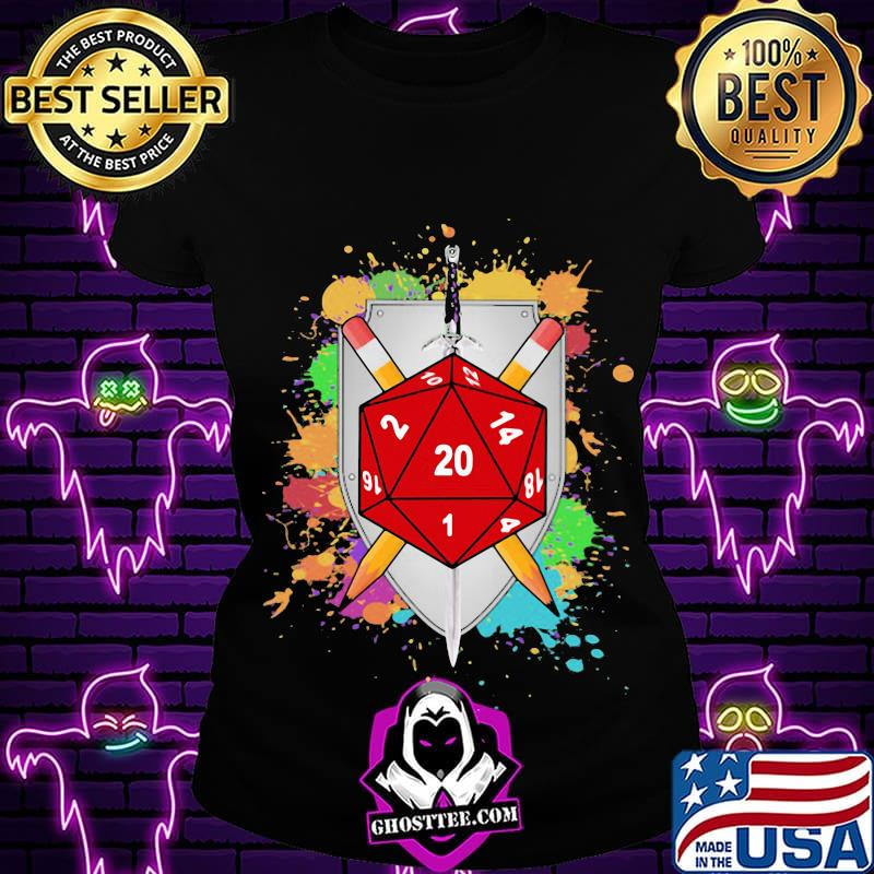 38c1b5de colorful slicing and dicing dnd shirt ladiestee - Home
