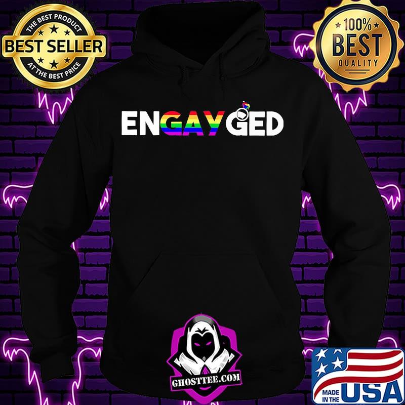 4585d81e en gay ged lgbt white color shirt hoodie - Home
