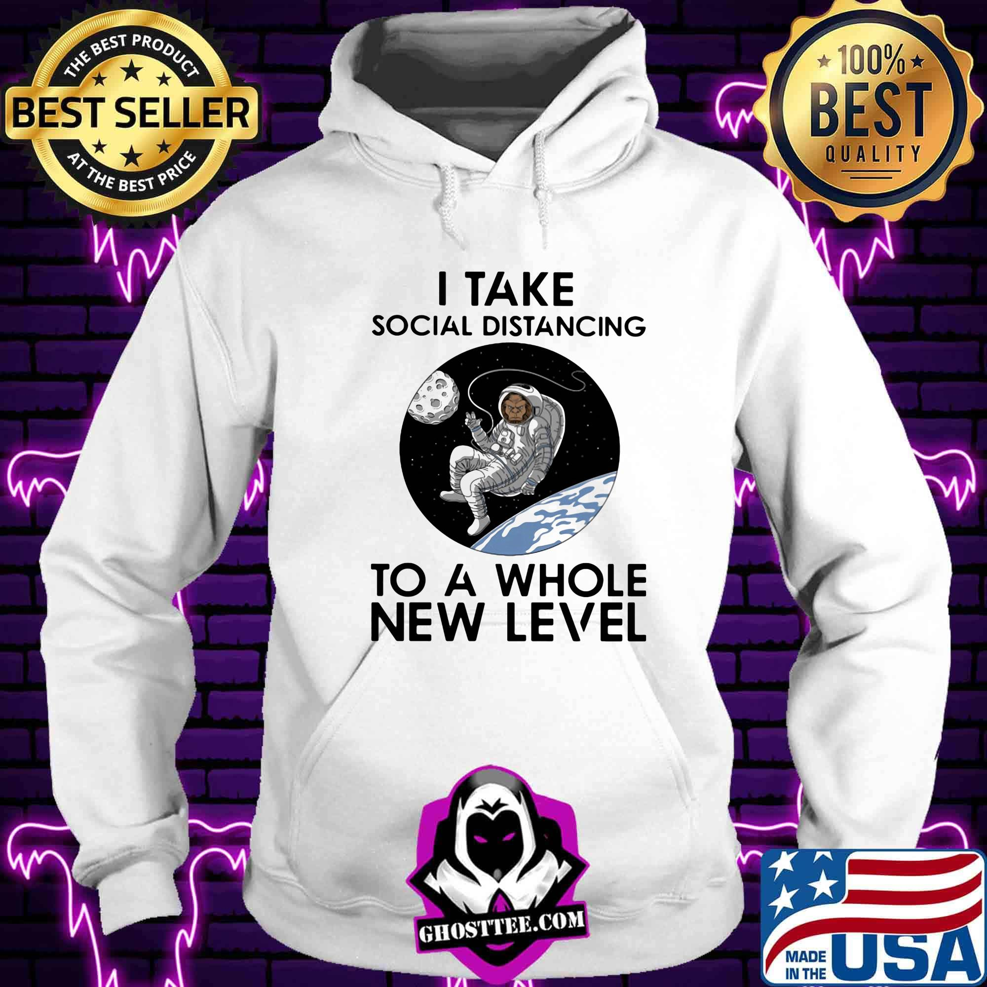 c9f1b82a astronaut i take social distancing to a whole new level shirt hoodie - Home