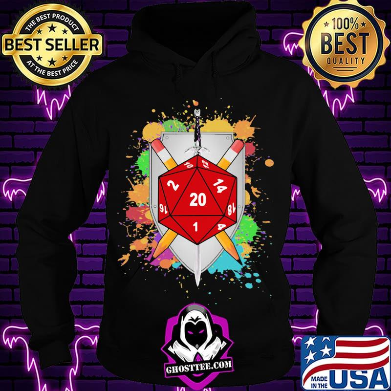 f4e9f7e5 colorful slicing and dicing dnd shirt hoodie - Home