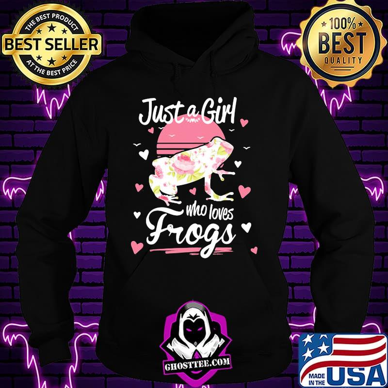 a63521bd official just a girl who loves frogs shirt hoodie - Home