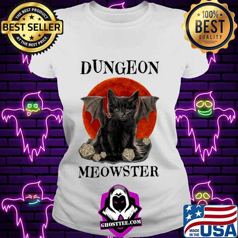 Cat dungeon meowster moonblood classic shirt