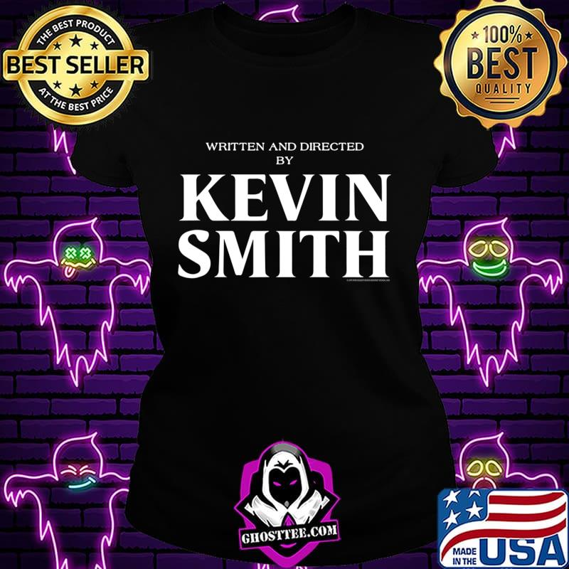 1dd80259 written and directed by kevin smith t shirt ladiestee - Home