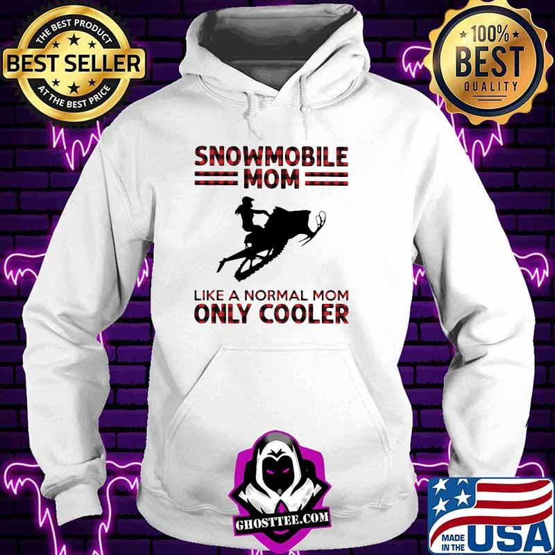 Snowmobile mom like a normal mom only cooler halloween shirt