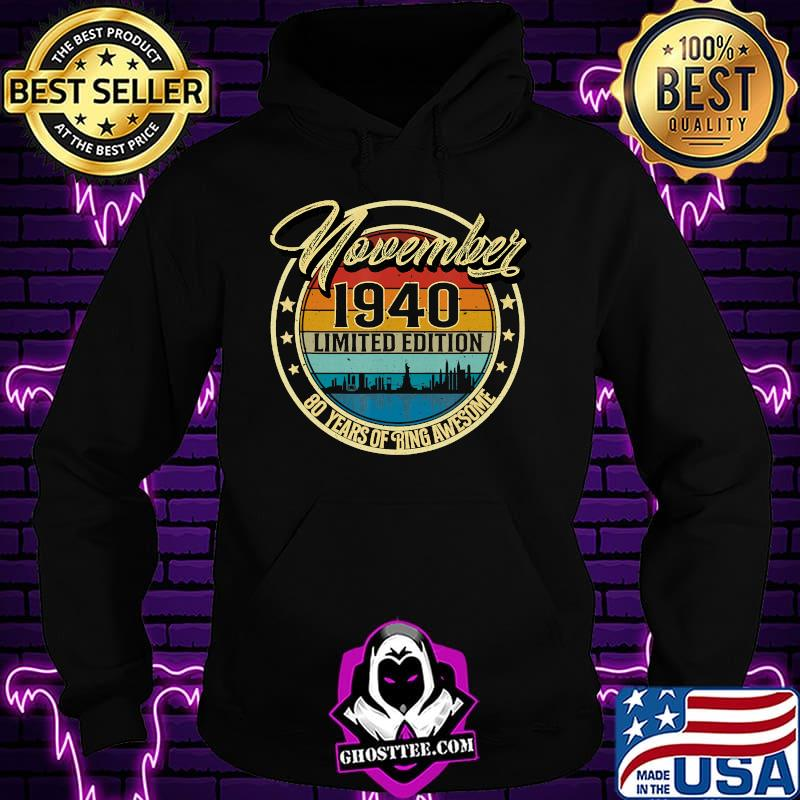 e20bdf89 october 1940 80 year old 80 quarantine birthday t shirt hoodie - Home