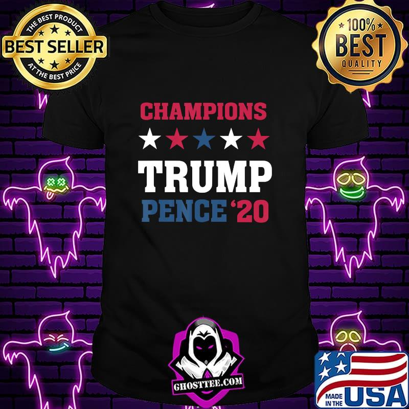 Election Winner Champions President Donald Trump Mike Pence T-Shirt
