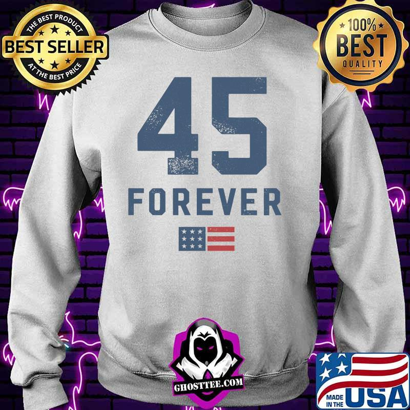 5a0ead4f 45 forever 4eva 2nd term reelection american flag shirt sweater - Home