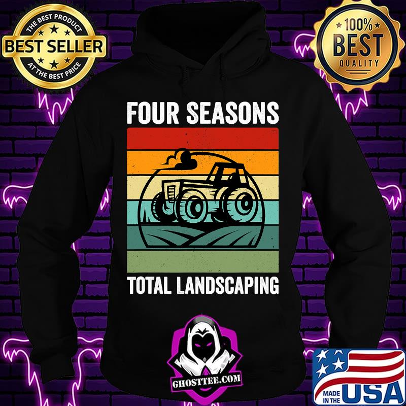 Official Four Seasons Total Landscaping Vintage Retro Shirt