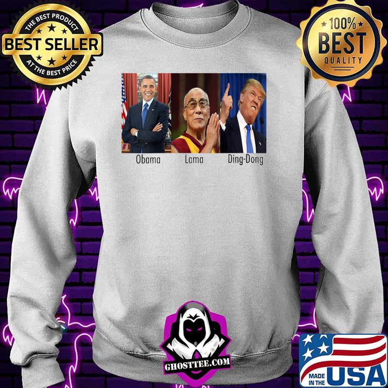 a10dc92d obama lama ding dong president american flag shirt sweater - Home