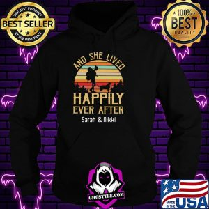 b9916a25 and she lived happily ever after sarah and nikki vintage sunset shirt hoodie 300x300 - Home