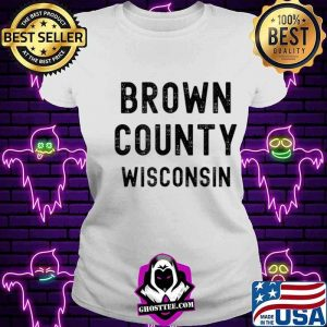 Brown County Wisconsin V-neck
