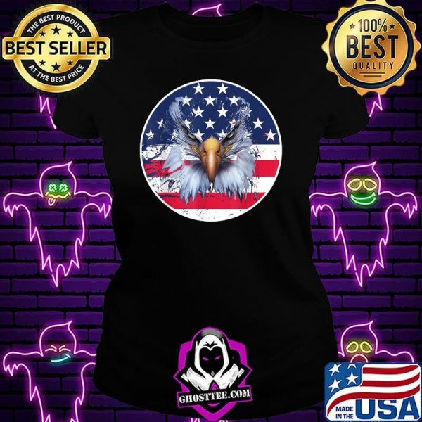 American Flag Patriotic Eagle 4th of July Shirt