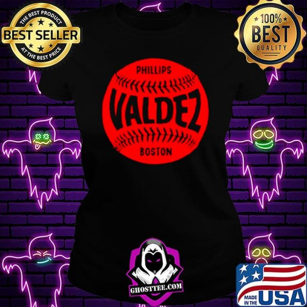 Boston Baseball Phillips Valdez shirt