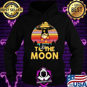Coin To The Moon Dogecoin Vintage Shirt