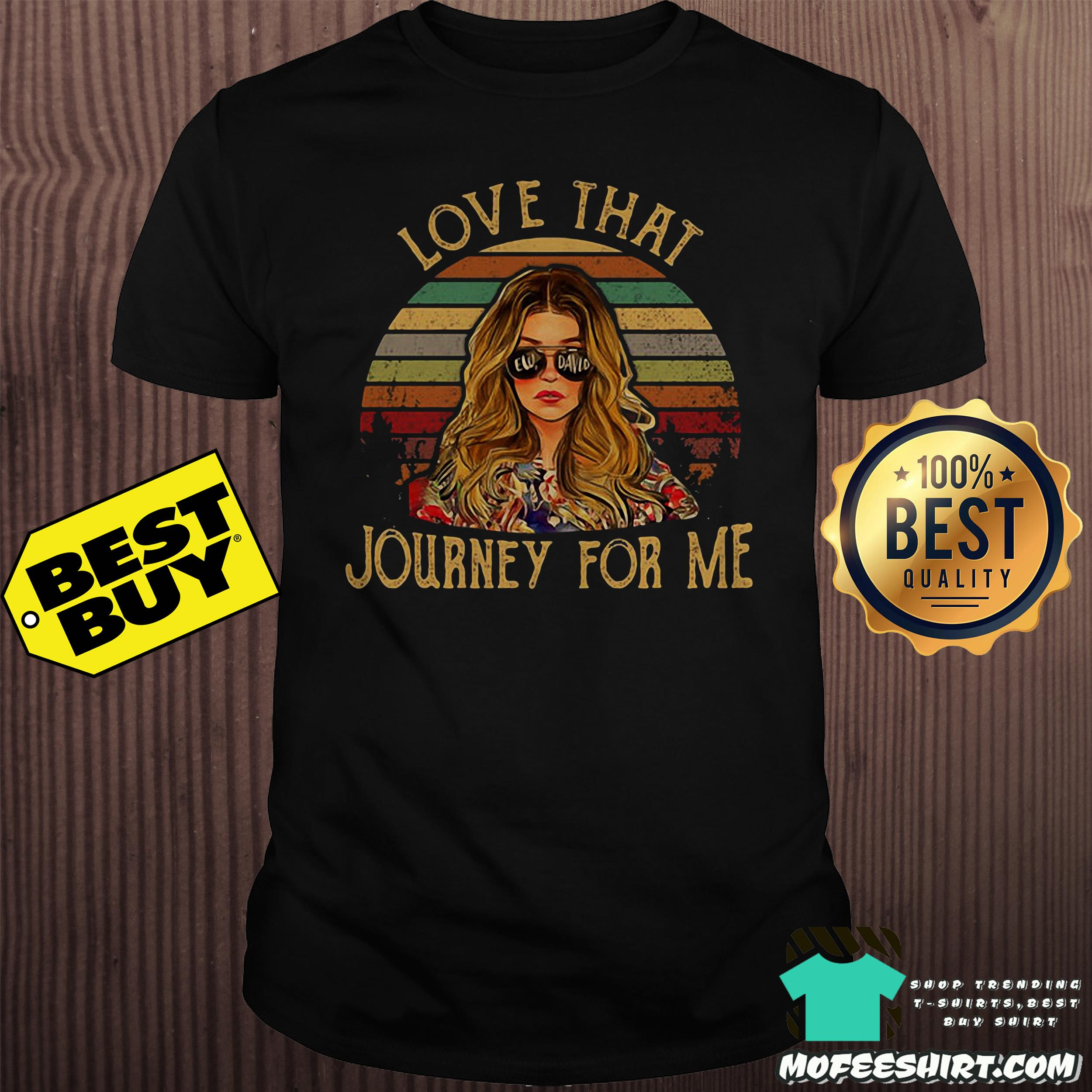 Ew David love that Journey for me vintage shirt