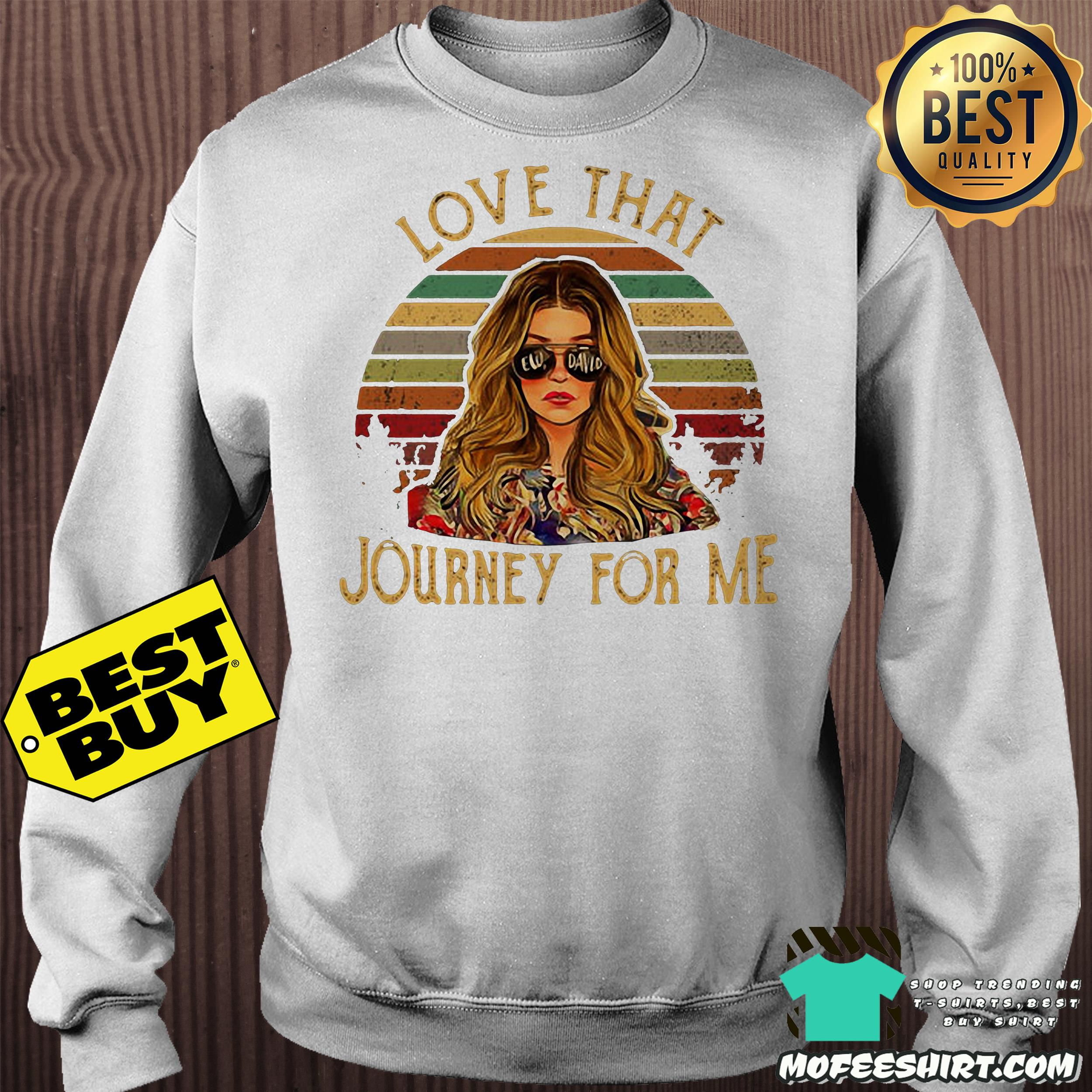 9 1 - Ew David love that Journey for me vintage shirt