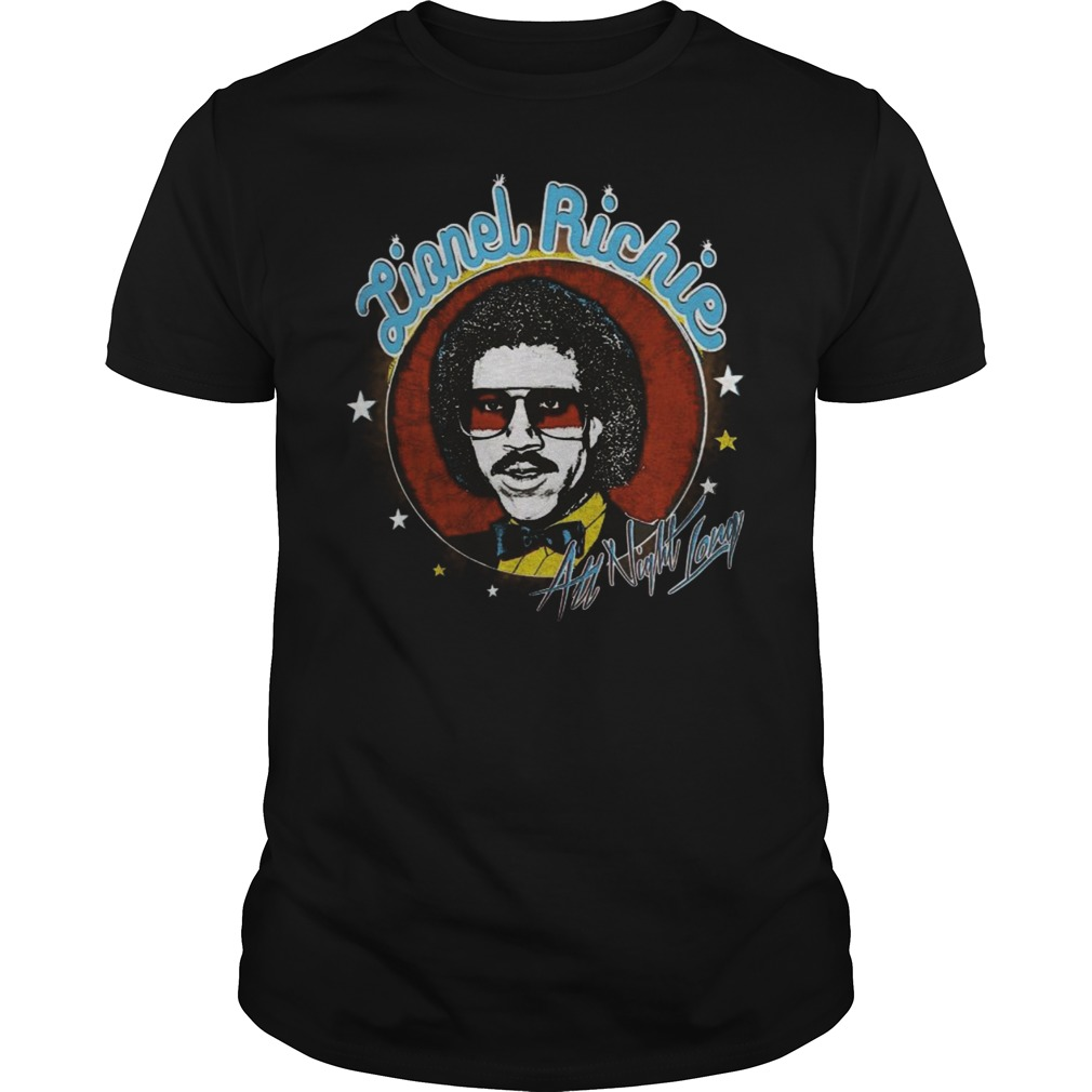 Lionel Richie – All Night Long Katy Perry shirt