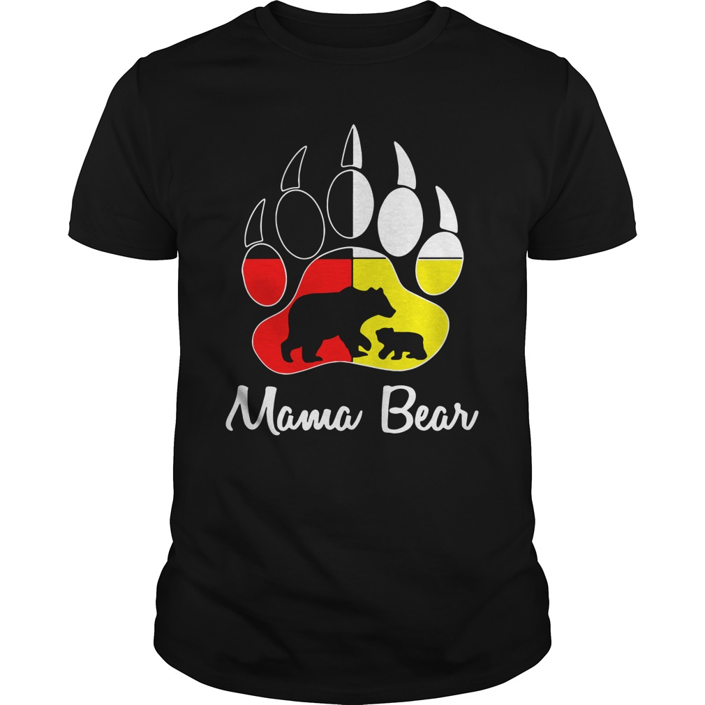 Official Mama Bear paw shirt
