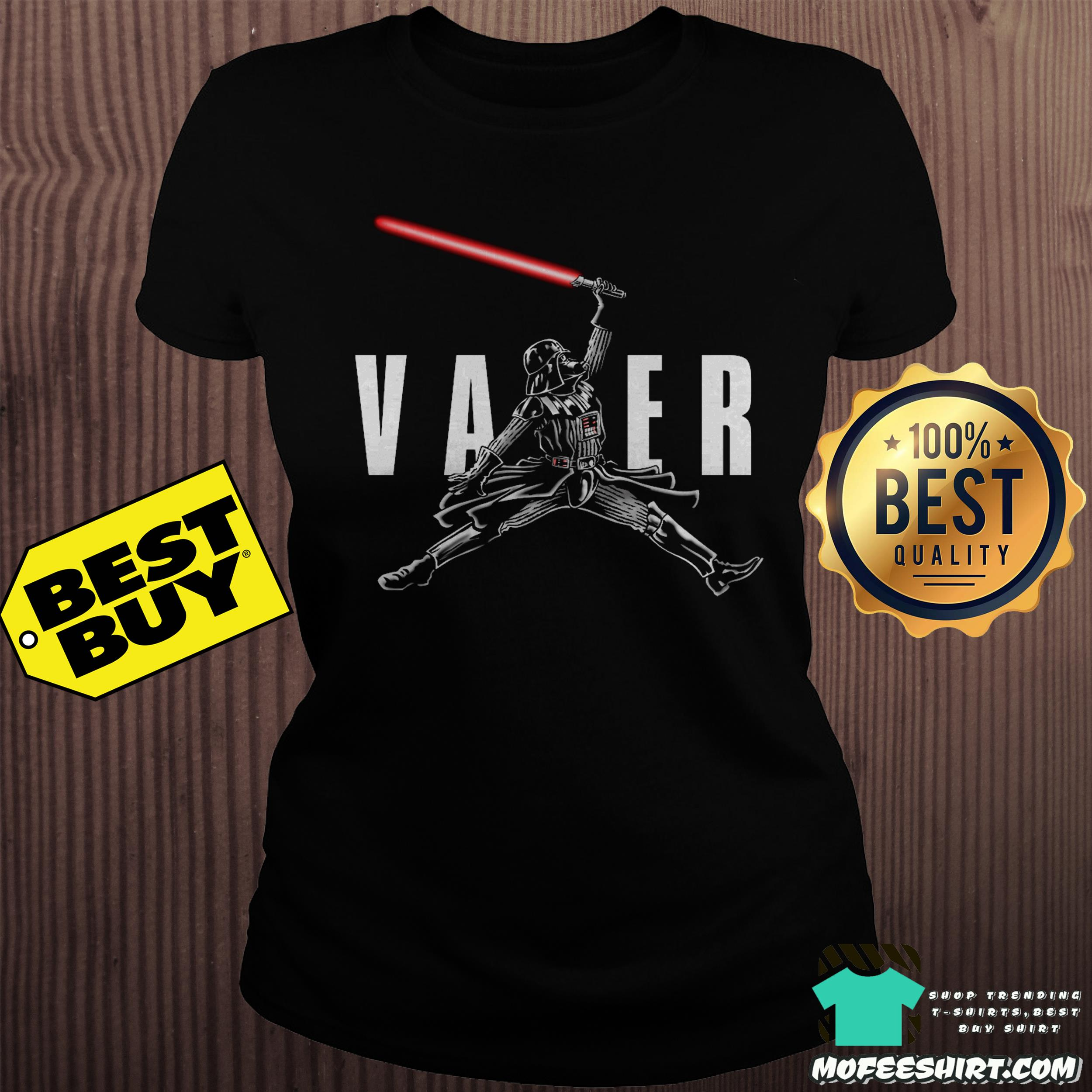 "air vader darth vader star war ladies tee - ""Air Vader"" - Darth Vader Star War shirt"