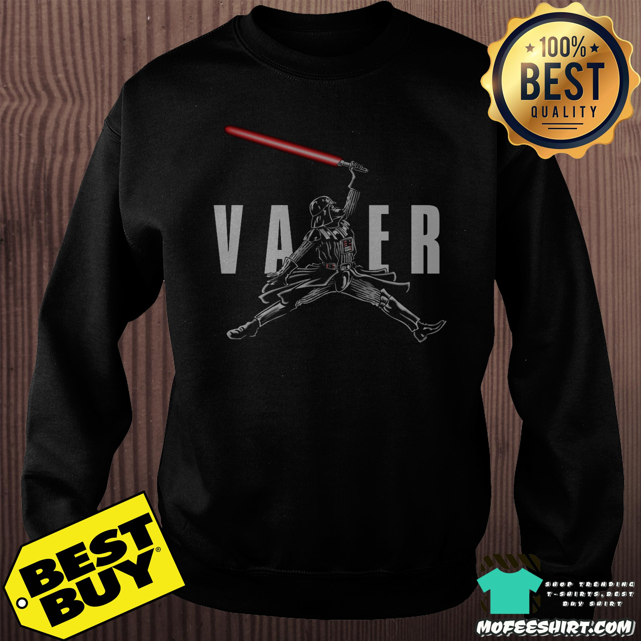 "air vader darth vader star war sweatshirt - ""Air Vader"" - Darth Vader Star War shirt"