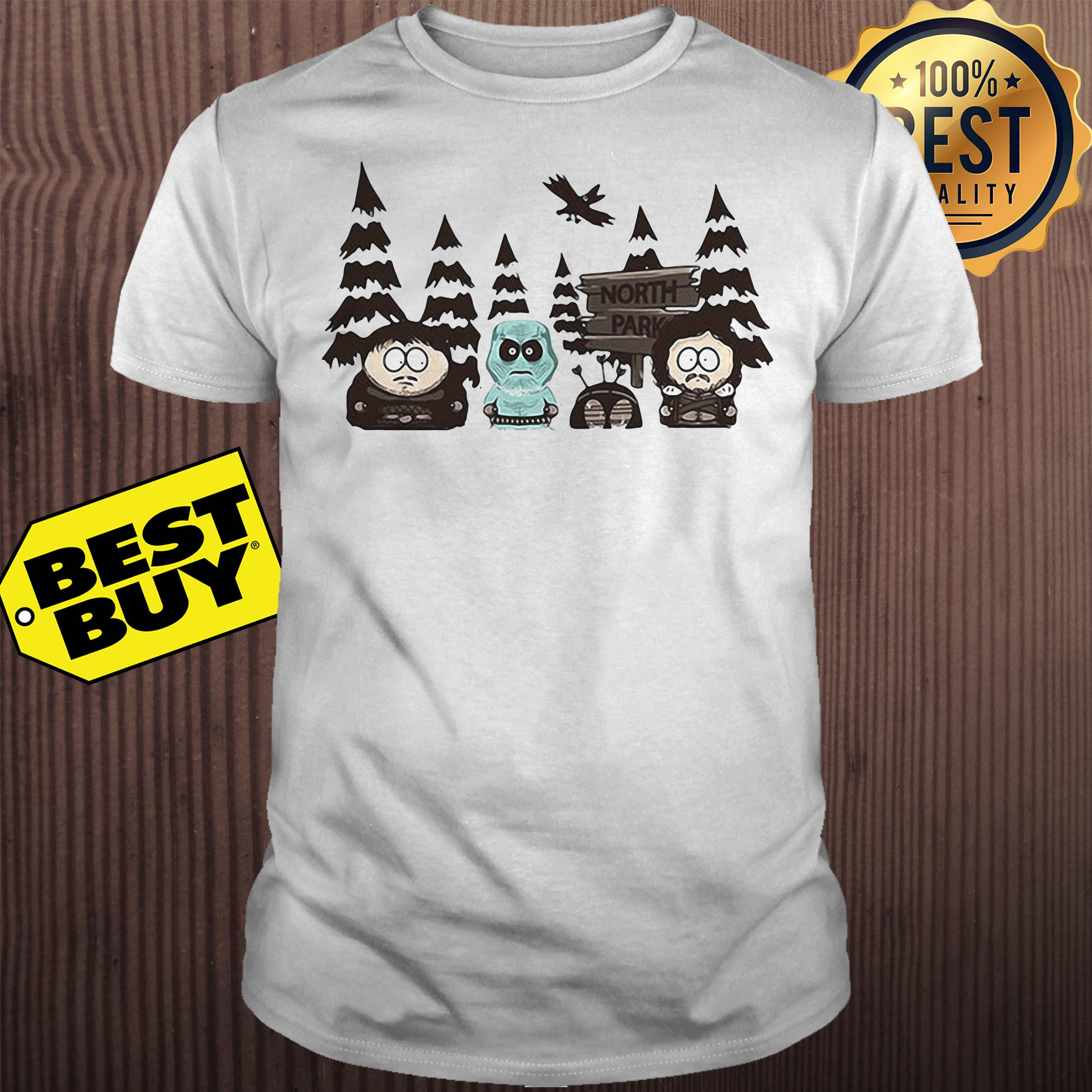 Game of Thrones South Park North Park shirt