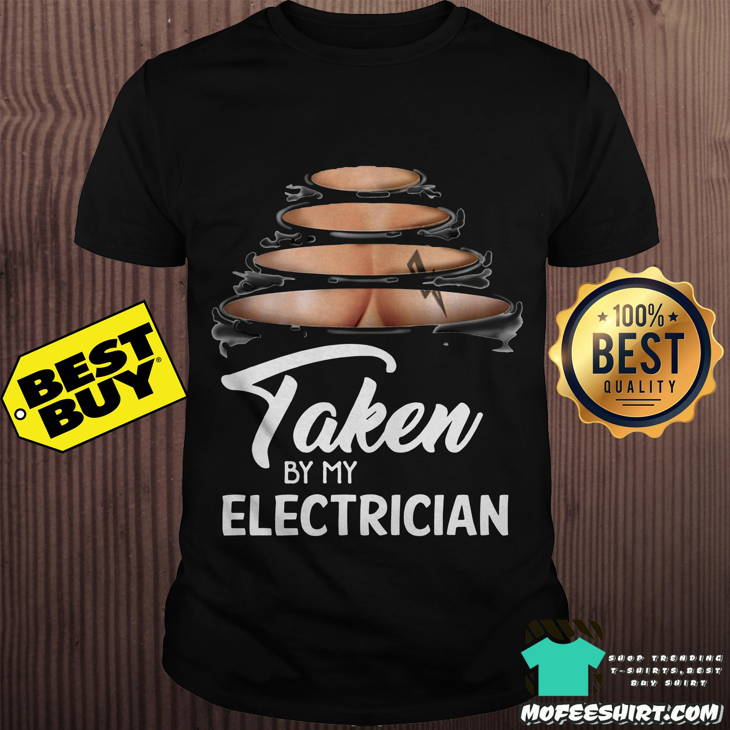 Taken by my electrician shirt