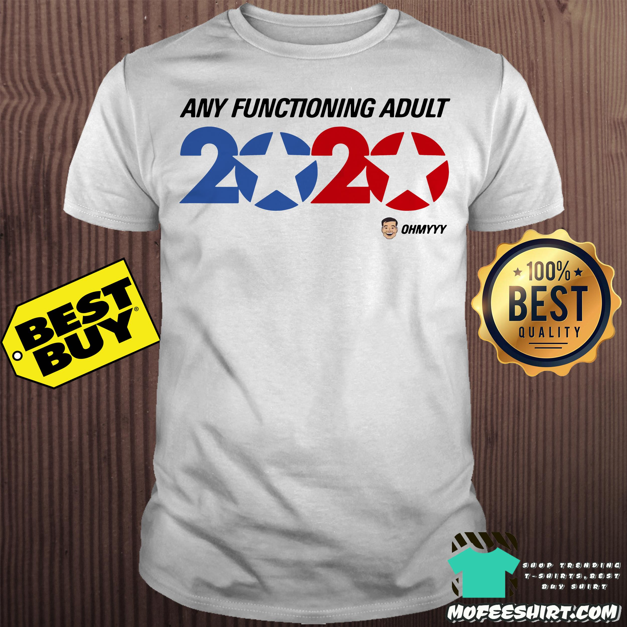 america trump 2020 george takei any functioning adult shirt - America Trump 2020 George Takei Any functioning adult shirt