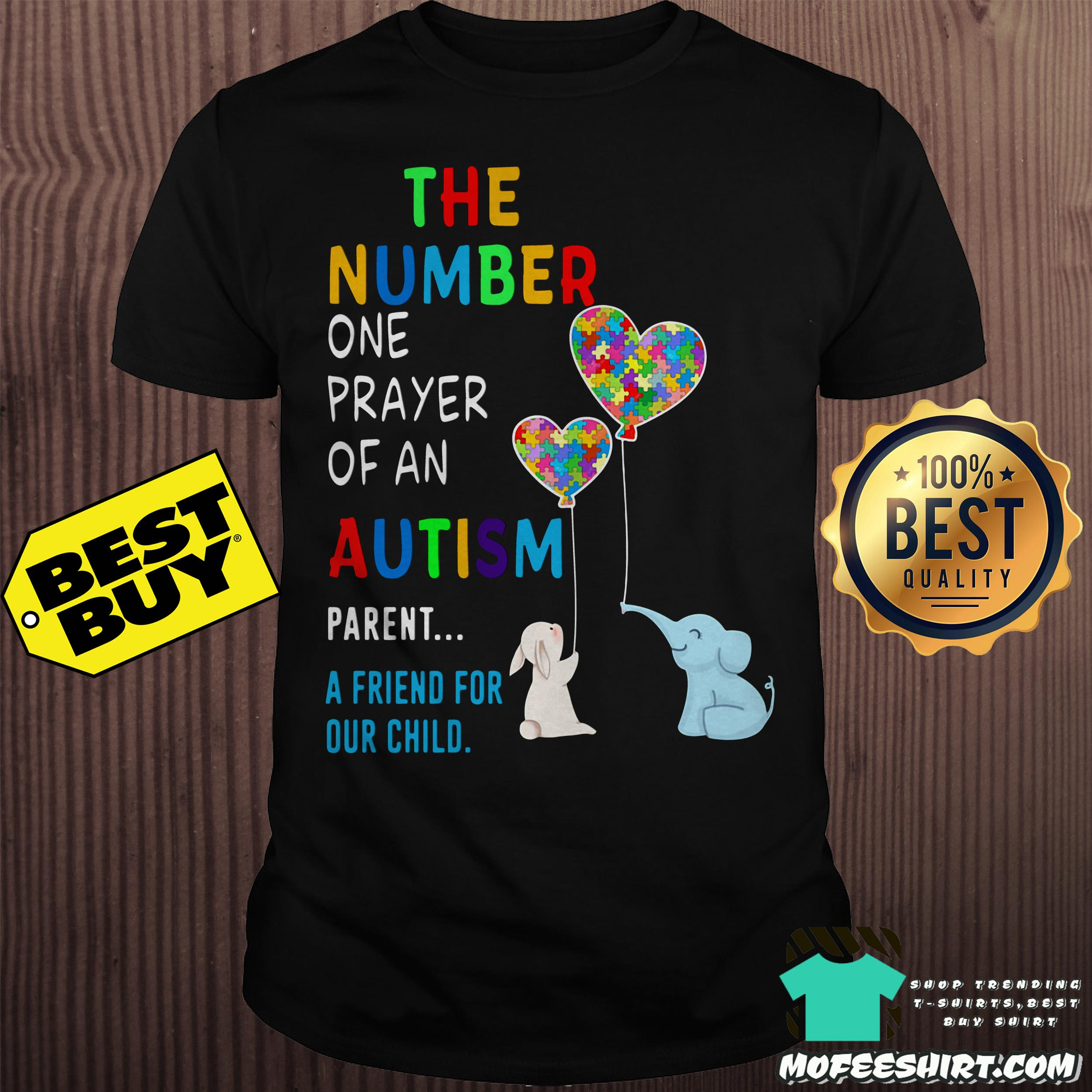 [Sale 20%] Official The Number One Prayer Of An Autism