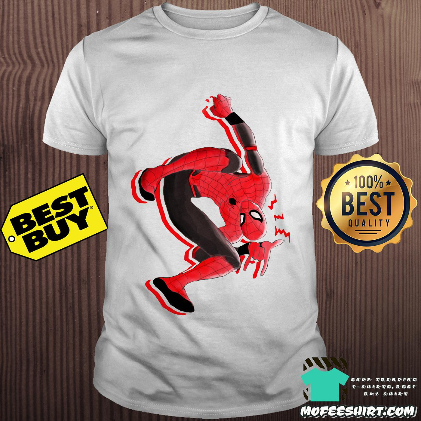 Far from home Spiderman Marvel shirt