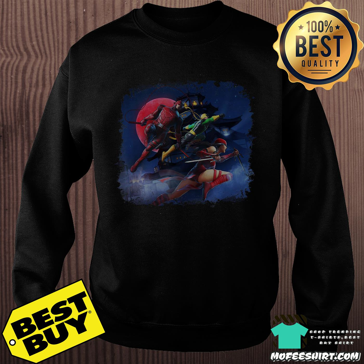 Marvel ultimate alliance 3 the black characters shirt