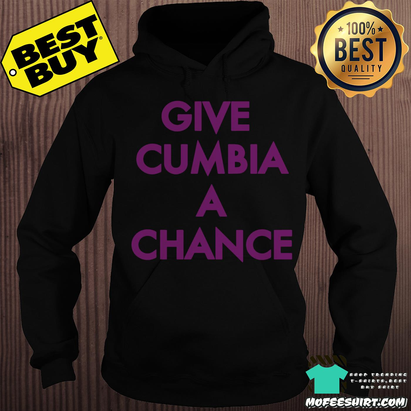 mexican institute of sound give cumbia a chance hoodie - Mexican Institute of Sound Give Cumbia a chance shirt