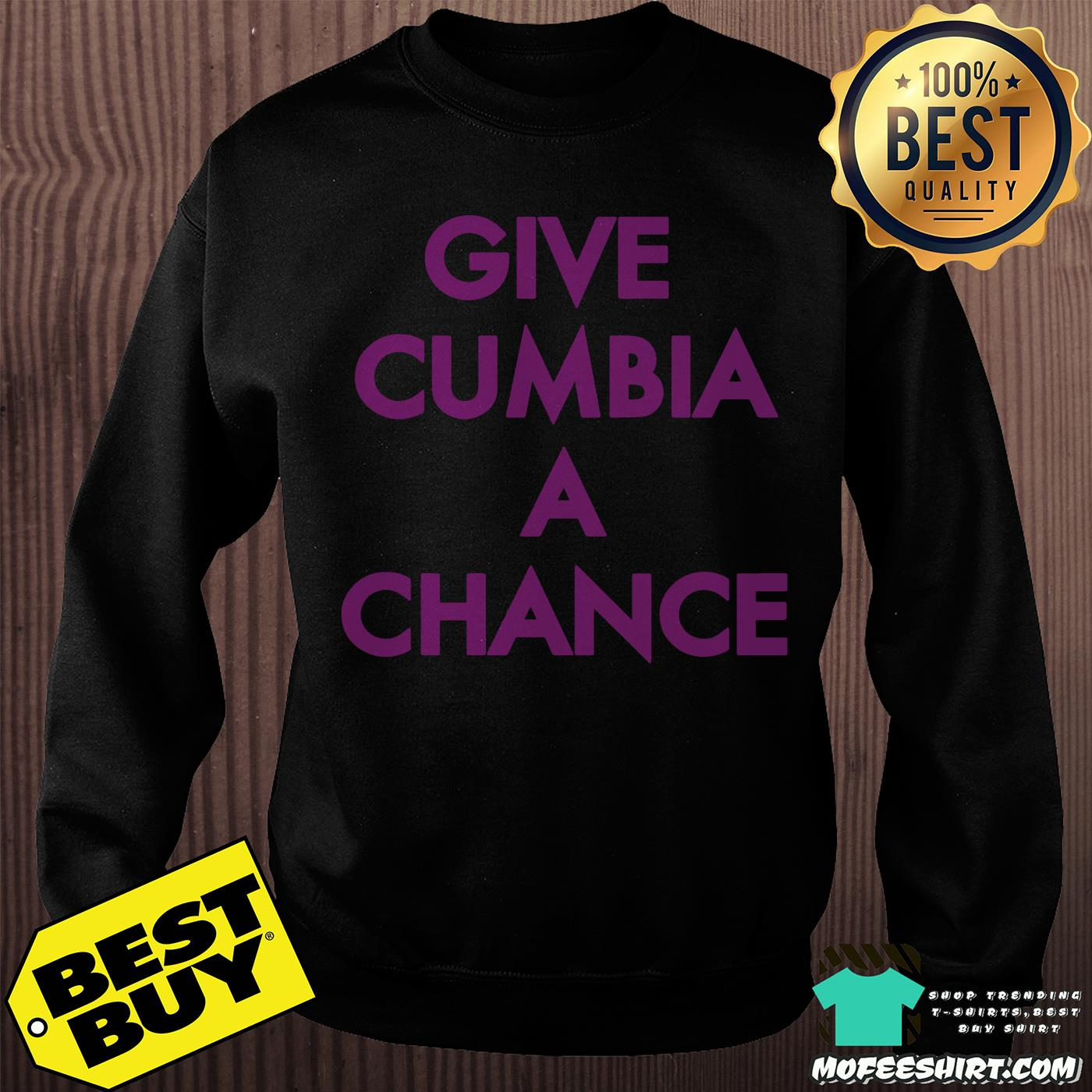 mexican institute of sound give cumbia a chance sweatshirt - Mexican Institute of Sound Give Cumbia a chance shirt