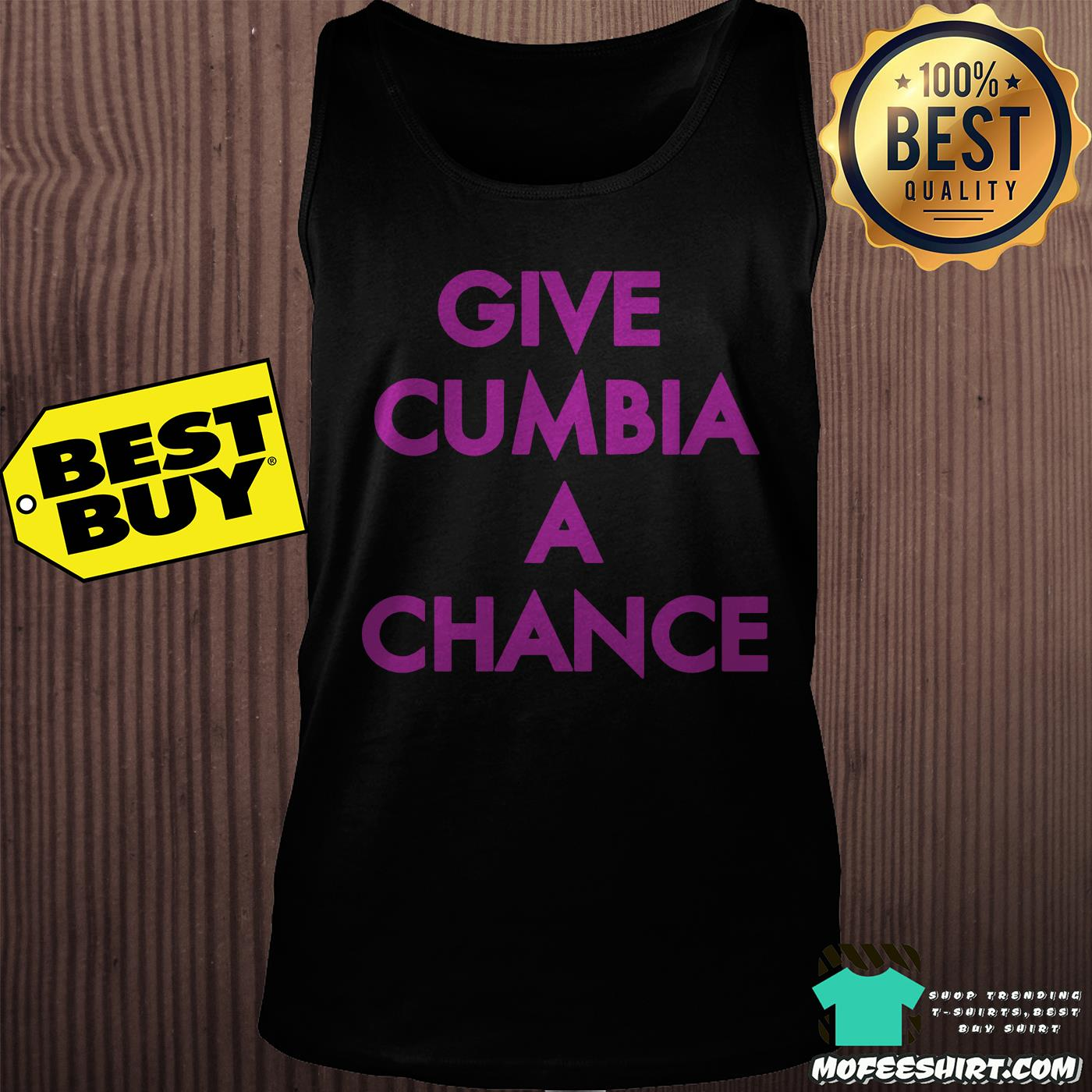 mexican institute of sound give cumbia a chance tank top - Mexican Institute of Sound Give Cumbia a chance shirt