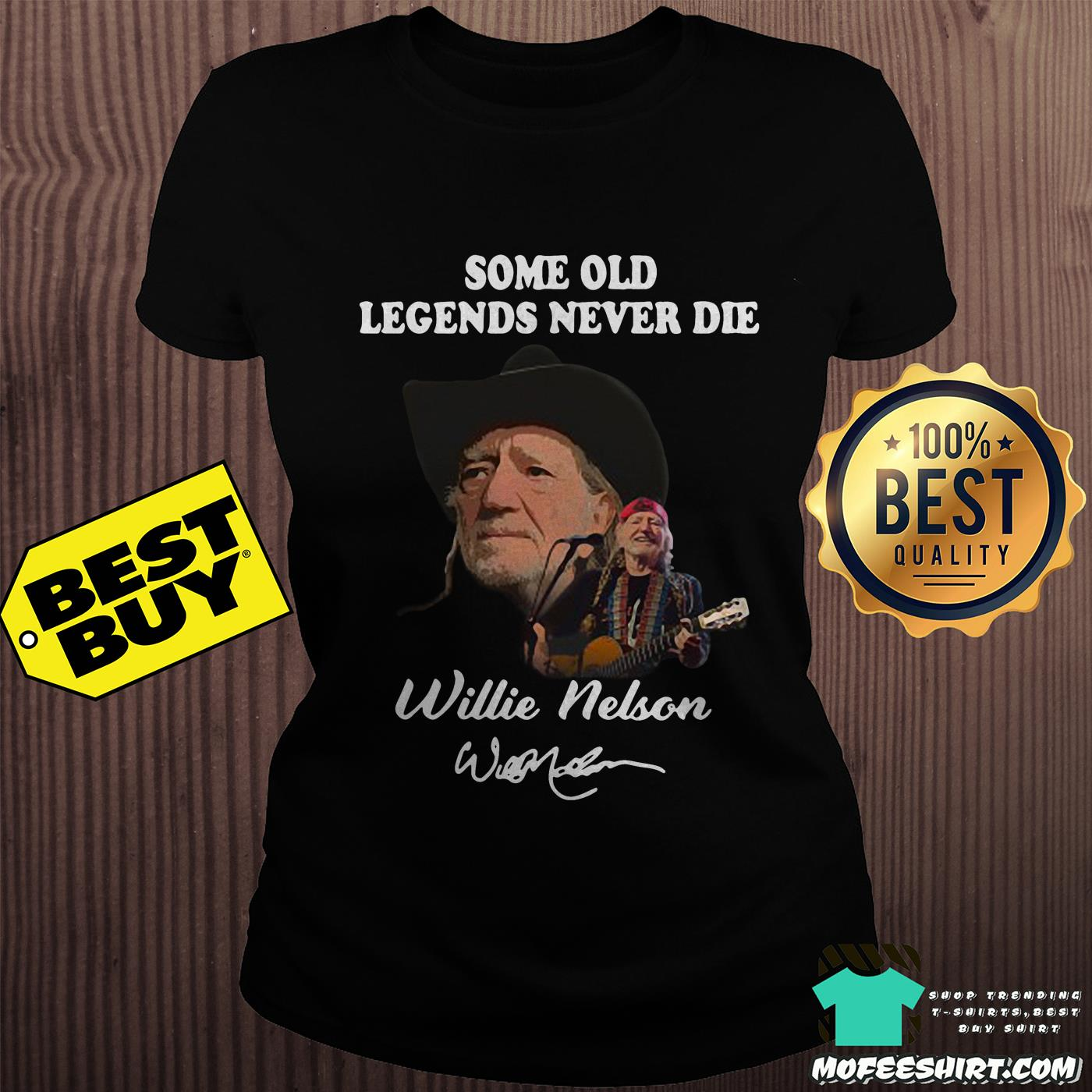 Some old Legends never die Willie Nelson signature shirt