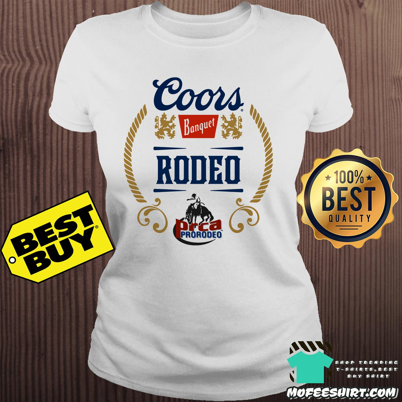 coors banquet rodeo prca prorodeo vintage ladies tee - Coors Banquet Rodeo PRCA Prorodeo Vintage shirt