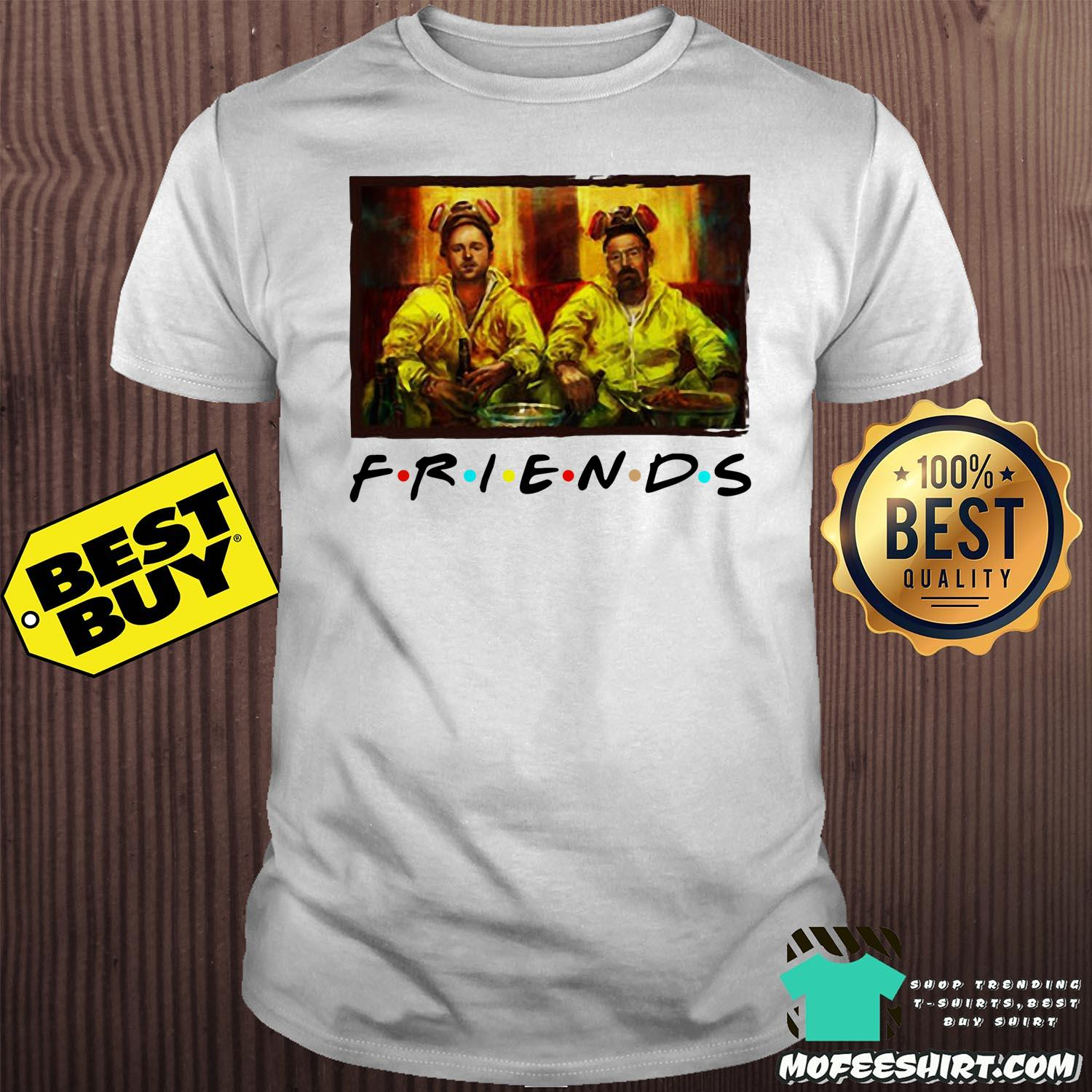 Breaking Bad Walter And Jesse Friends Tv Show Shirt