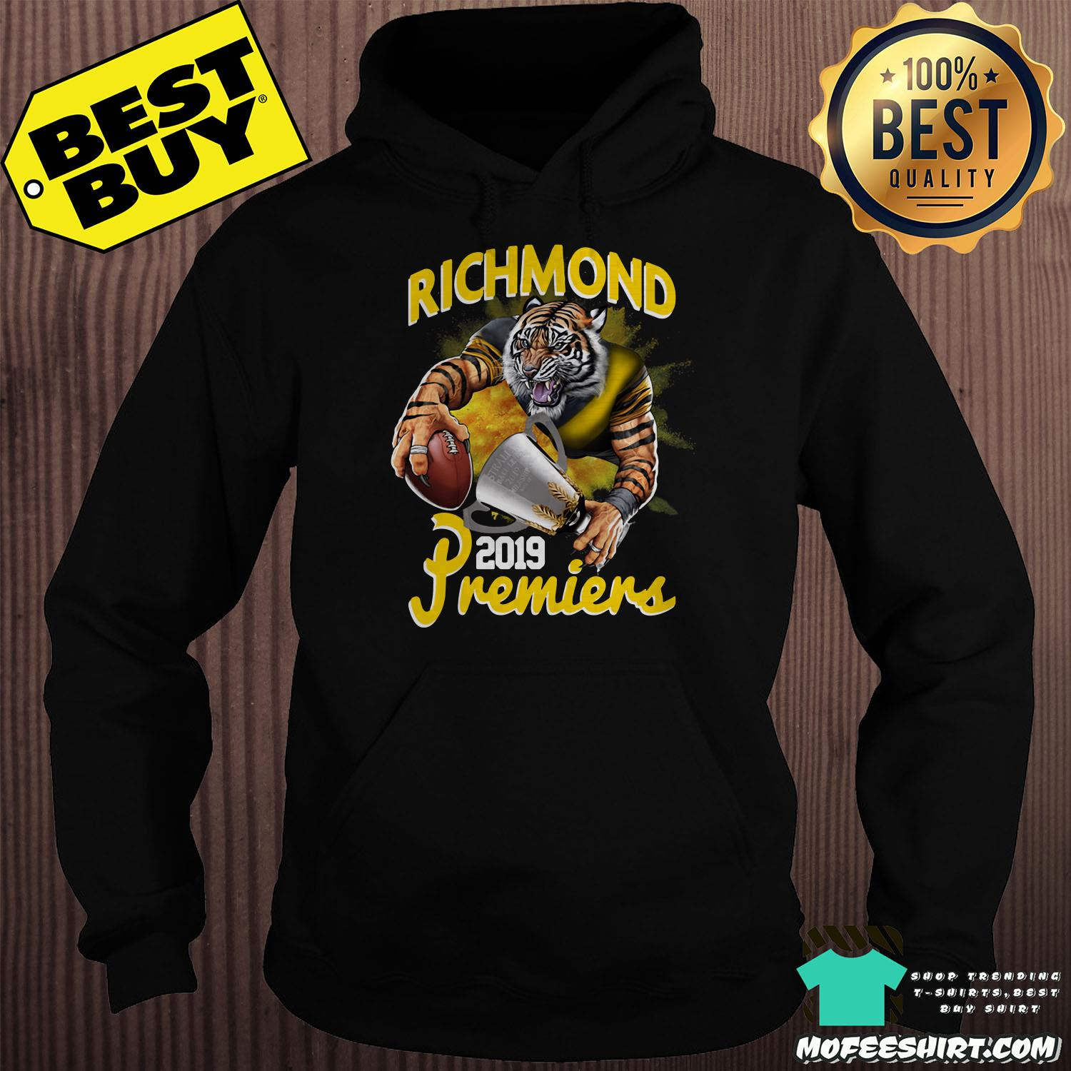 afl richmond tigers premiers 2019 hoodie - AFL Richmond Tigers Premiers 2019 shirt
