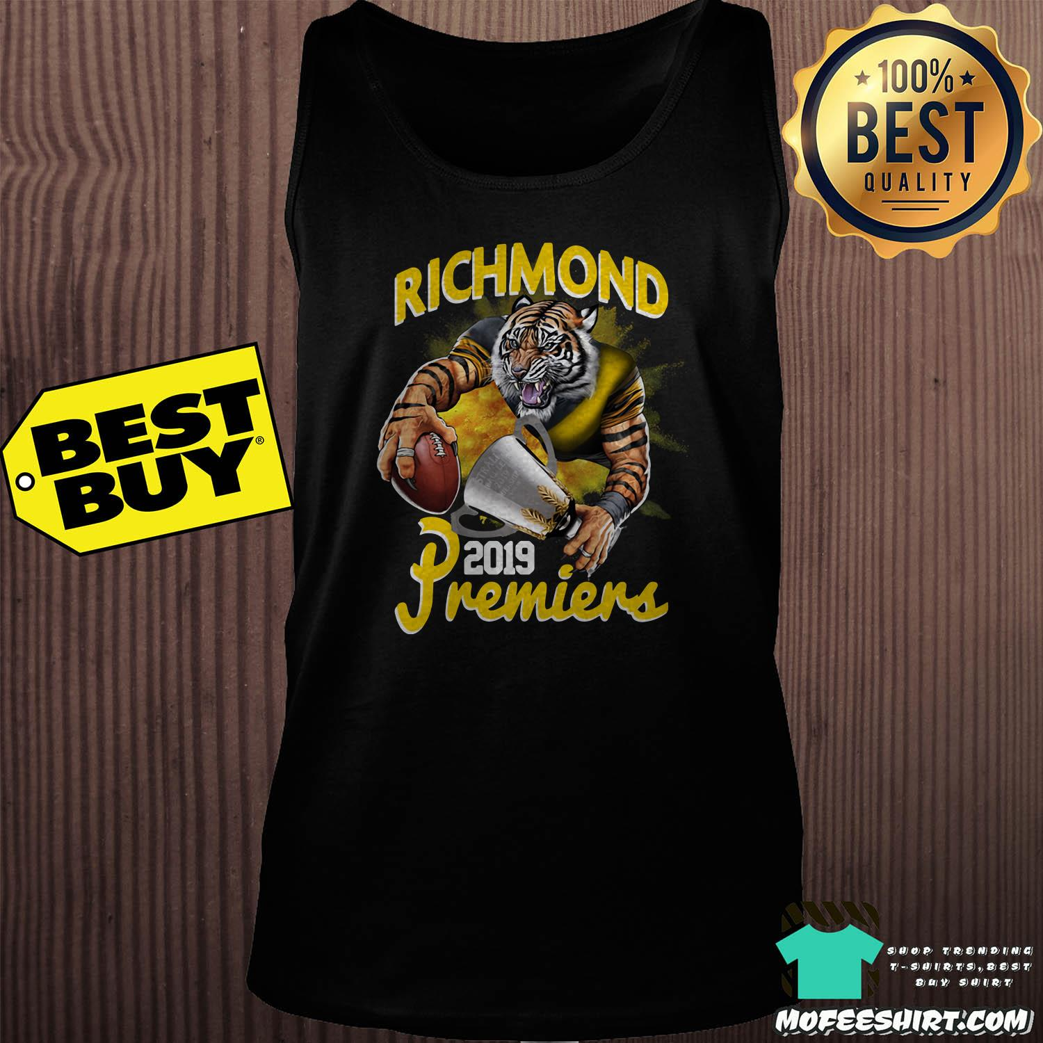 afl richmond tigers premiers 2019 tank top - AFL Richmond Tigers Premiers 2019 shirt