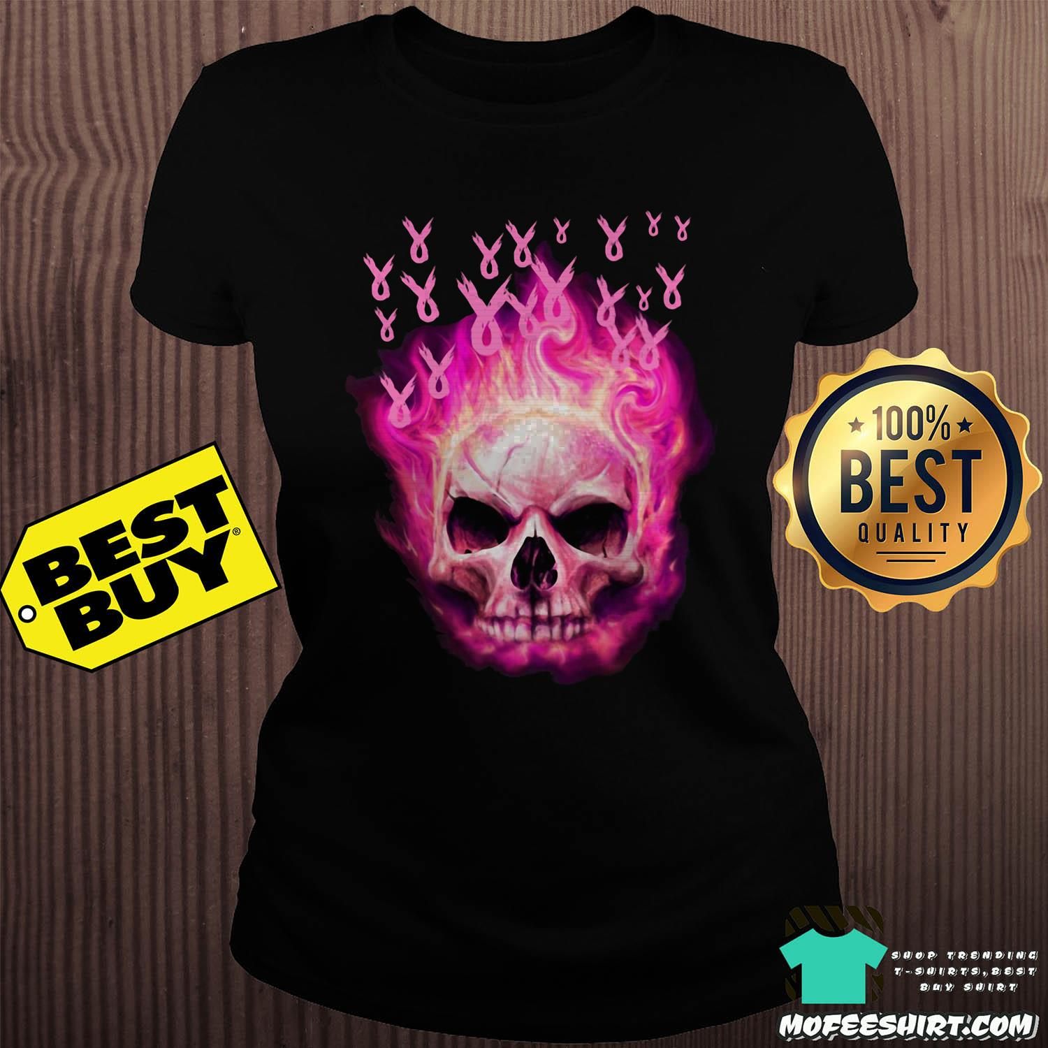 halloween the breast cancer awareness ladies tee - Halloween The Breast Cancer Awareness shirt