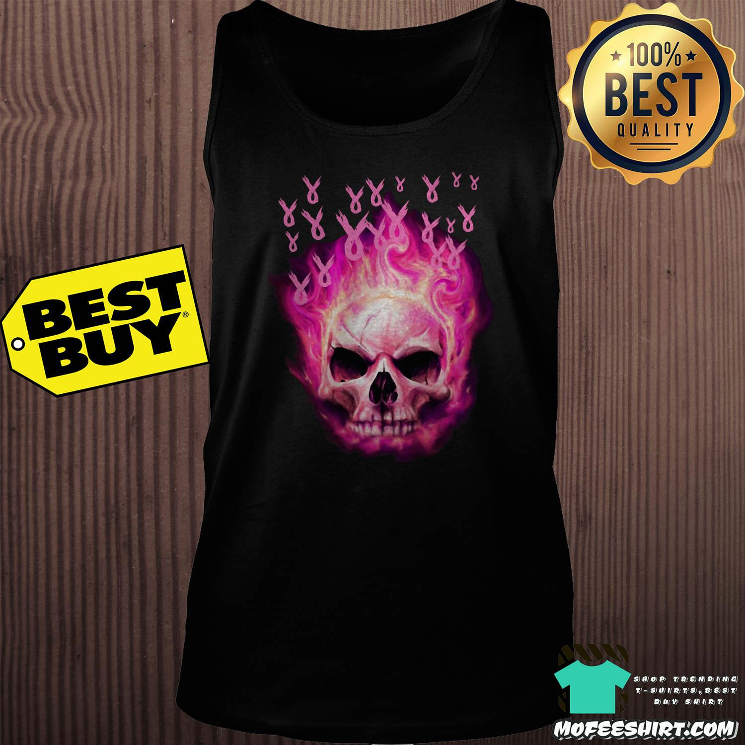halloween the breast cancer awareness tank top - Halloween The Breast Cancer Awareness shirt