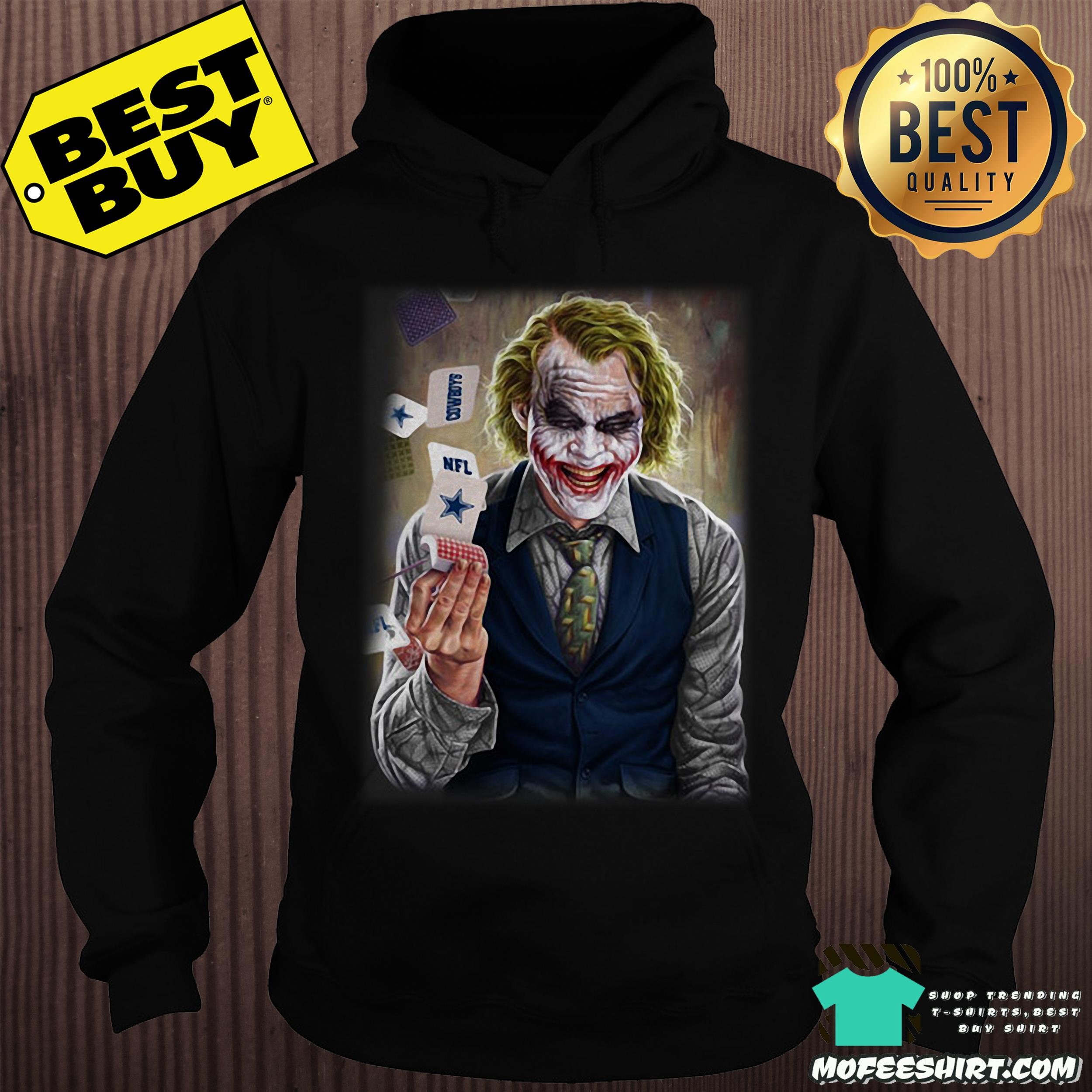 nfl joker playing cards dark knight hoodie - NFL Joker Playing Cards Dark Knight shirt