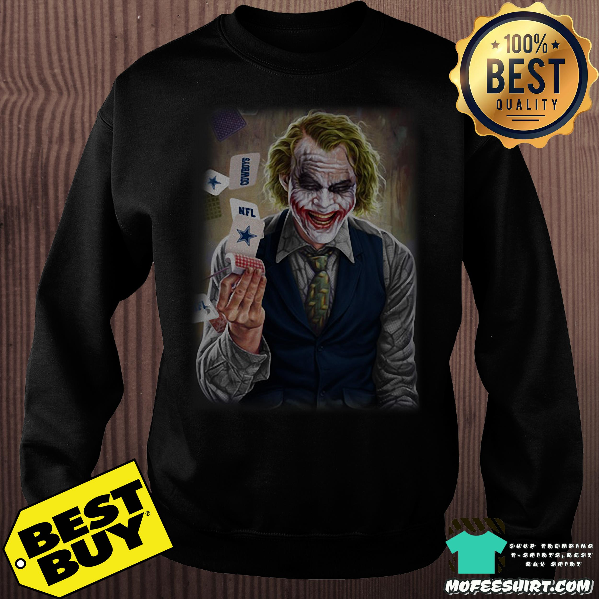 nfl joker playing cards dark knight sweatshirt - NFL Joker Playing Cards Dark Knight shirt