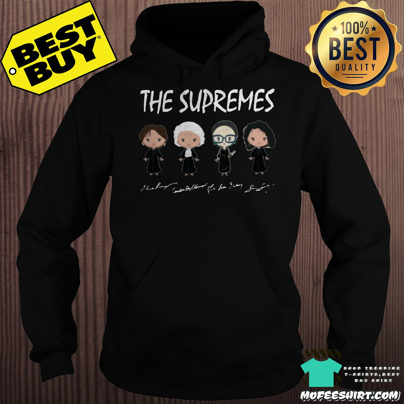 the supremes ruth bader ginsburg signatures hoodie - The supremes Ruth Bader Ginsburg signatures shirt