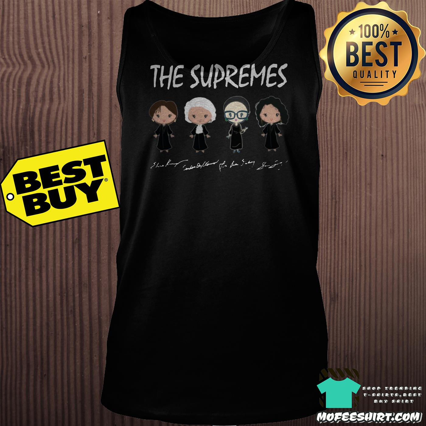 the supremes ruth bader ginsburg signatures tank top - The supremes Ruth Bader Ginsburg signatures shirt