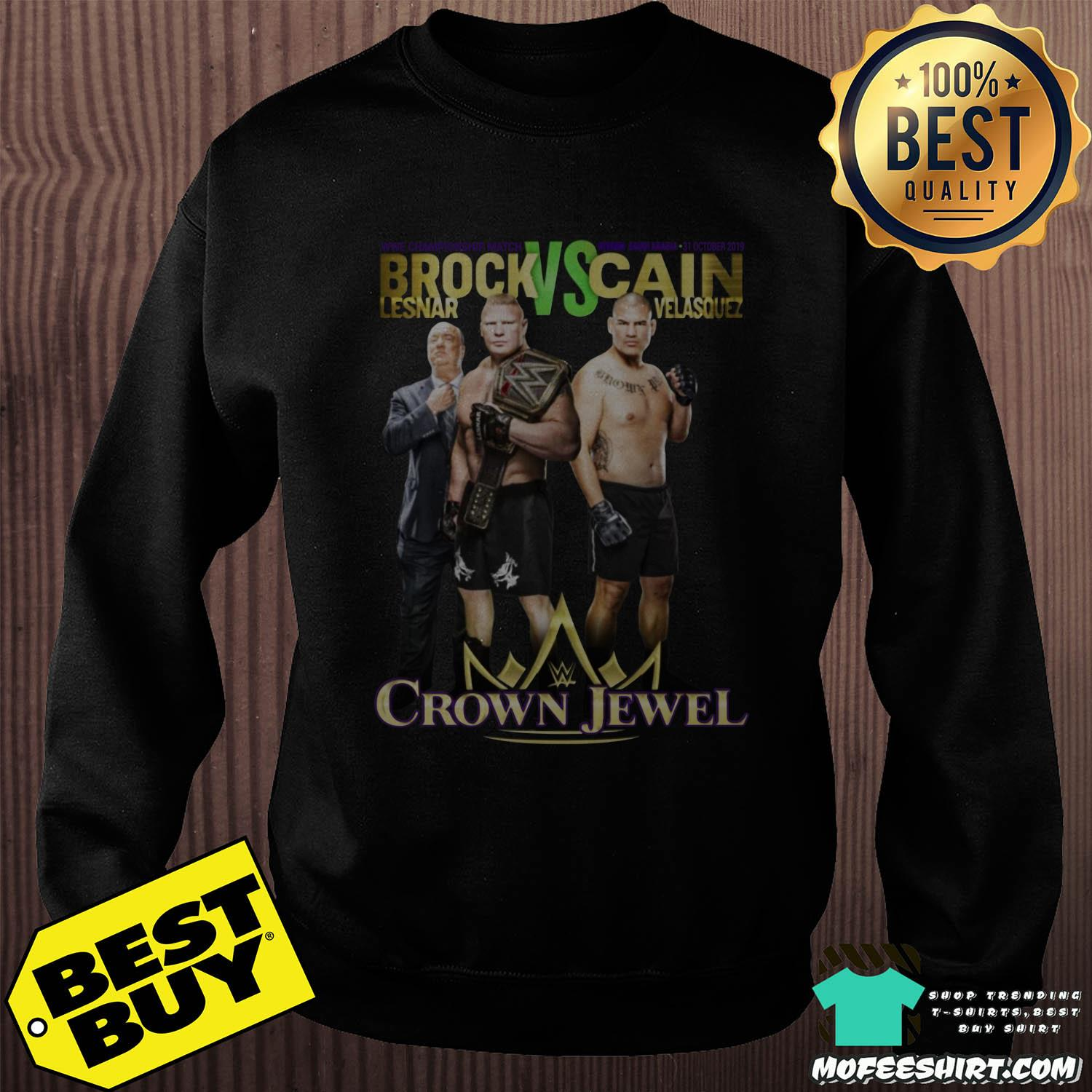 Brock Lesnar Vs Cain Velasquez Crown Jewel Shirt
