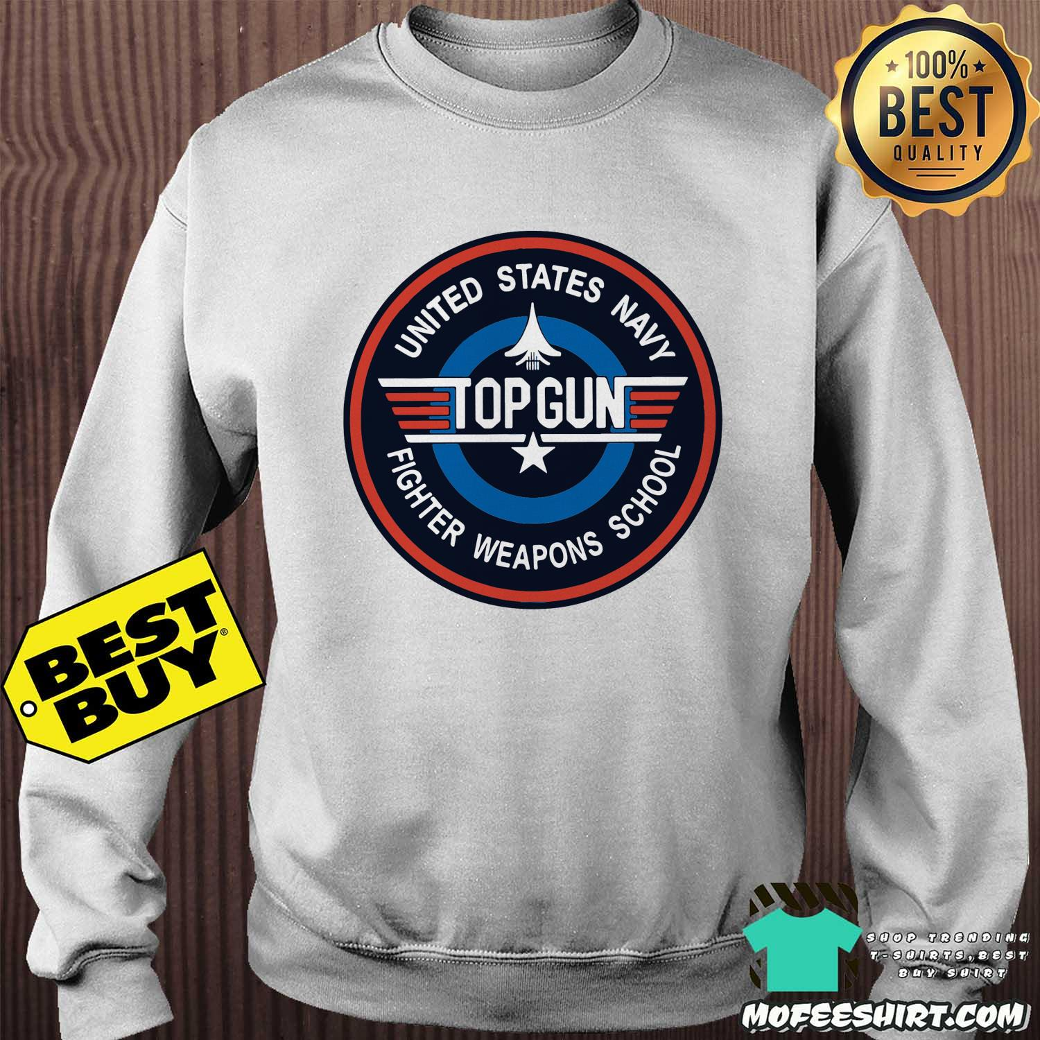 Top Gun United States Navy Fighter Weapons School USAF Shirt Sweater